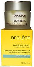 Decleor HYDRA FLORAL 24Hr Moisture Activator LIGHT Cream Moisturiser 50ml