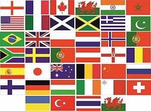 Image is loading World-Country-Flag-Pack-Car-Decals-Stickers