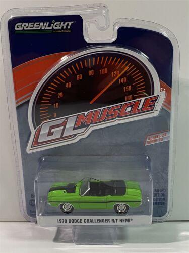 1970 Dodge Challenger R//T HEMI GL Muscle 1:64 Greenlight 13270D