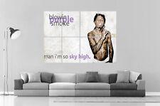 LIL WAYNE SMOKING MIXER Wall Art Poster Grand format A0 Large Print