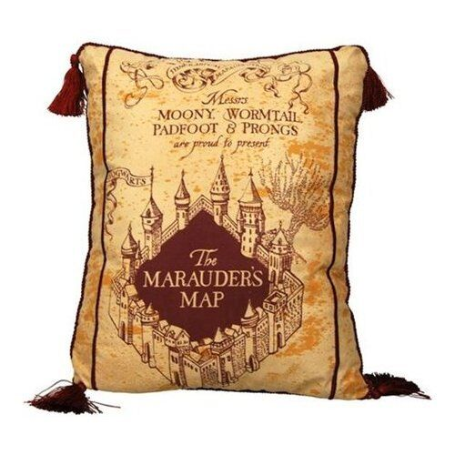 Harry Potter Marauder Map Kissen Kissen 40cm By Neca