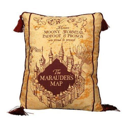 HARRY POTTER MARAUDER MAP pillow Kissen 40cm by Neca