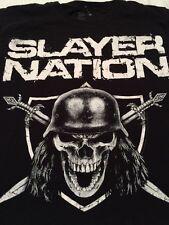 Slayer Nation Small Men's T-shirt Metal Metallica Anthrax Megadeth ☠