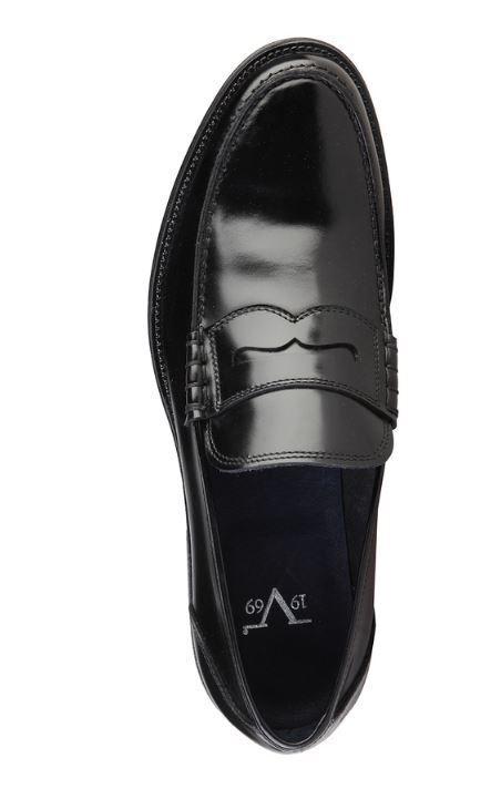 Versace V1969 CONRAD schwarz Gr noir Echtleder Business Herrenschuhe Gr schwarz 40 ec9b44