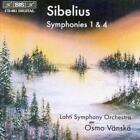 Sinfonien 1 Und 4 von Lahti Symphony Orchestra,Osmo Vänskä (1996)