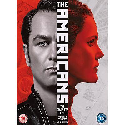The Americans Complete Series, Seasons 1-6 [2018] (DVD)