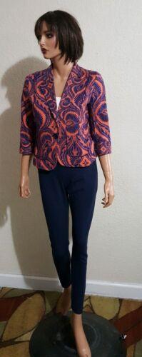 Tracy Tart Sz Door 4 Stretch ~ Womens Pants Jacket Plenty Back Zip AcqHxZfE