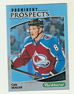 2019-20-Upper-Deck-PARKHURST-PROMINENT-PROSPECTS-CALE-MAKAR-RC-Rookie-Avalanche