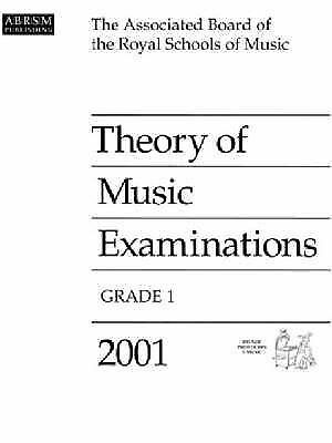 Theory of Music Examinations: 2001: Grade 1 by Associated Board of the Royal Sc…