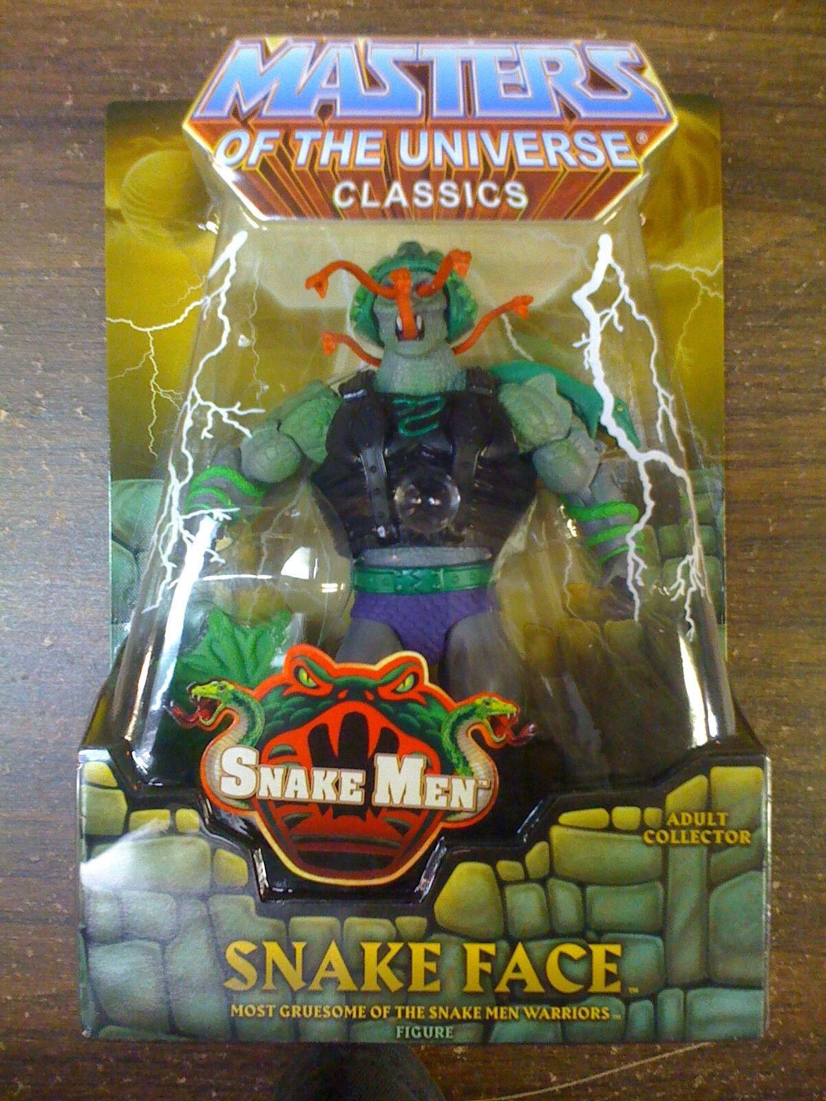 MOTU Matty Classics Snake Face  Worldwide  NEW FREE SHIP US