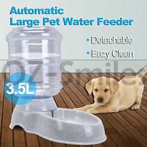 3-5L-Automatic-Pet-Feeder-Dispenser-Waterer-Dog-Cat-Self-Feeding-Food-Water-Bowl