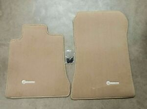 Genuine oem mercedes benz sl class r129 beige carpeted for Mercedes benz sl550 floor mats