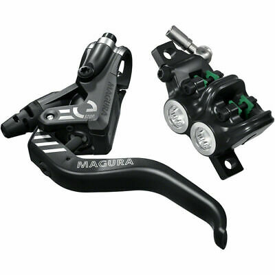 Rear Hydraulic Promax Solve Disc Brake and Lever Black Post Mount