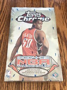2004-05 Topps Chrome Hobby Box Lebron James 2nd Year Kobe Bryant PSA 10 Sealed