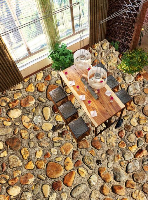 3D Retro Stone Pattern 8 Floor WallPaper Murals Wall Print Decal AJ WALLPAPER US