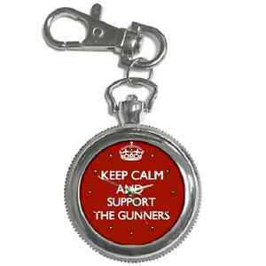 KEEP-CALM-amp-SUPPORT-YOUR-FOOTBALL-TEAM-CLUB-KEYCHAIN-WATCH-GREAT-GIFT-ITEM