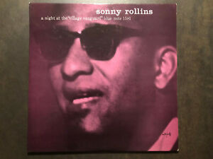 Sonny-Rollins-A-night-at-the-Village-Vanguard-47-West-63rd-DG-ear-RVG-NM