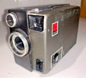 Kodak M14 Super-8 Cine Camera from the late 1960s, with original case