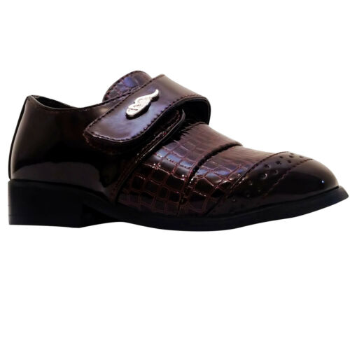 Boys Formal Wedding Party Christening Page Boy Party Dress Shoes Sizes