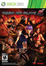 Dead or Alive 5 NEW Microsoft XBOX 360 Game