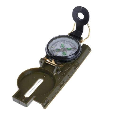 Outdoor Camping Hiking Style Survival Marching Military Lensatic CompassZXJ