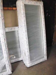 Neue-Balkontuer-Terrassentuer-Fenster-alle-Groessen-Tuer-Lagerware-sofort-abholbereit