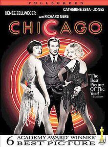 Chicago (DVD, 2003, Full Screen)