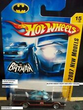 HOT WHEELS 2007 FE #15 -180-4 TV BATMOBILE COMB GRILL NMC AM BLISTR #2