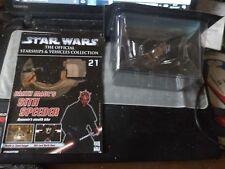 star wars starship & vehicle collection no 21 darth maul's sith speeder look