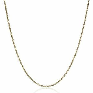 Perfectina Chain Necklace in 14K Gold, 16