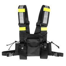 Harness Bags Radio Walkie Talkie Pouch Adjustable Straps Carrying Case Accessory