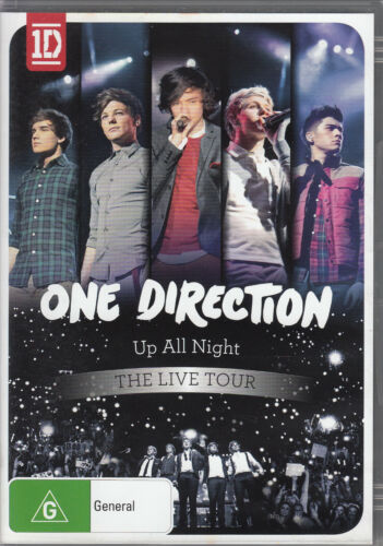 1 of 1 - One Direction - Up All Night: The Live Tour - May-2012 - NTSC REGION 0