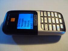 Fácil simple Barato mayores Alcatel OT-E205 Teléfono Móvil en Naranja de trabajo