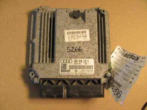 AUDI A4 ECM ECU COMPUTER 8E0 910 115 K
