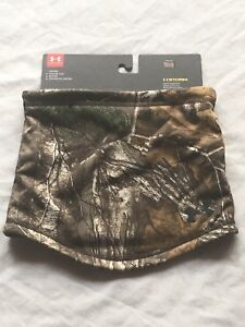 Under Armour UA Scent Control Storm Neck Gaiter Hunting Realtree Max 5 1300479