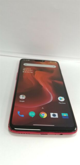OnePlus 6 Duos 128gb Amber Red A6003 (Unlocked) Discounted NW2656