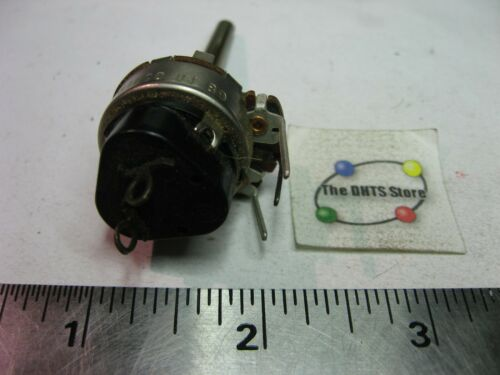 NOS Qty 1 Potentiometer Philco 13-0120-2 w Pull-On SPST Switch Wire-Wrap