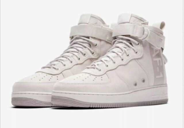 finest selection e19a6 7a8dc Nike SF Air Force 1 Mid Suede Vast Grey Aj9502-001 Shoes Men's Size 17