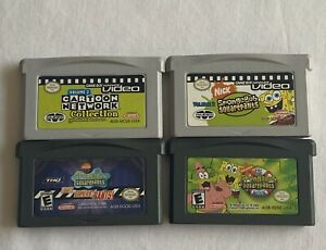Gameboy-Advance-Video-Cartoon-Network-amp-Spongebob-Vol-2-amp-2-Spongebob-Games