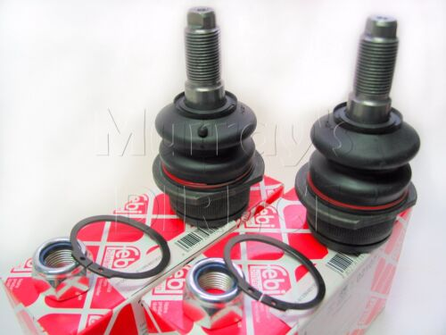 Pair of FEBI OEM Quality Lower Ball Joints VW T25 T3 Camper Van 80-91 251407187