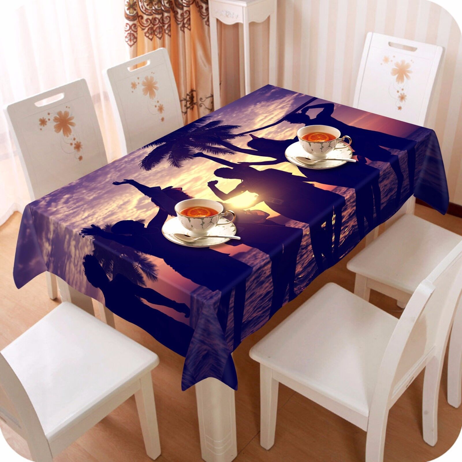 3D Shadow 4510 Tablecloth Table Cover Cloth Birthday Party Event AJ WALLPAPER AU
