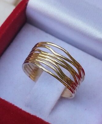 Gold Wedding Ring ,14K Yellow Gold Ring ,Stackable Gold Ring ,Handmade Gold Band
