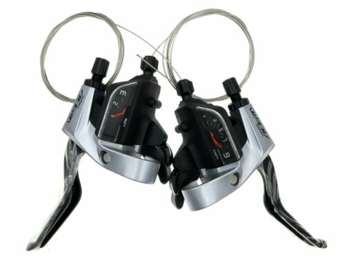 SHIMANO ACERA ST-T3000 TAP FIRE Plus Shift//Brake Lever 3x9-speed for Trekking