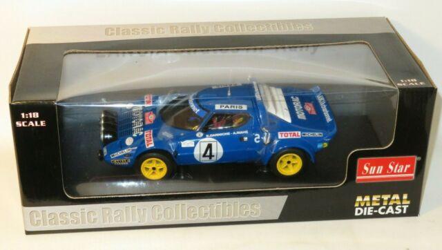 1/18 Lancia Stratos HF Rallye  Chardonnet  1st Monte Carlo Rally 1979 B.Darniche