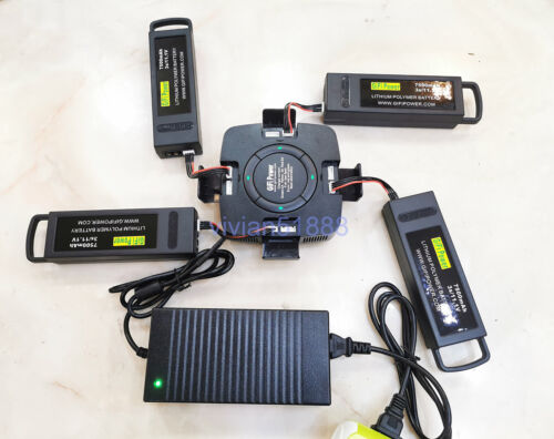 4 in 1 Yuneec Typhoon Q500 4k Battery Charger Multi Fast  Balance Charger