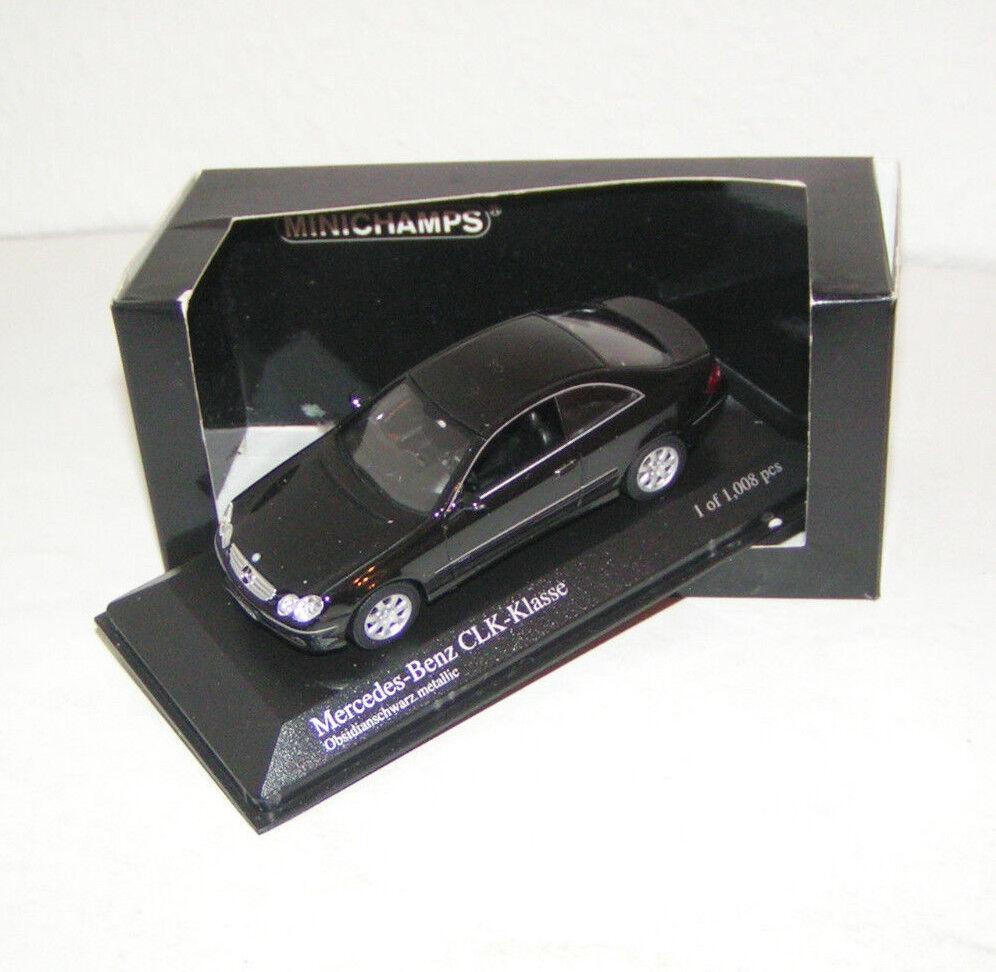 Mercedes-Benz CLK-clase W 209 - 2001-nero metallic-Minichamps 1 43