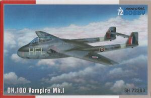 SPECIAL-HOBBY-72383-DH-100-Vampire-Mk-I-1-72-De-Havilland-Jet-RAF-RAAF-1-72