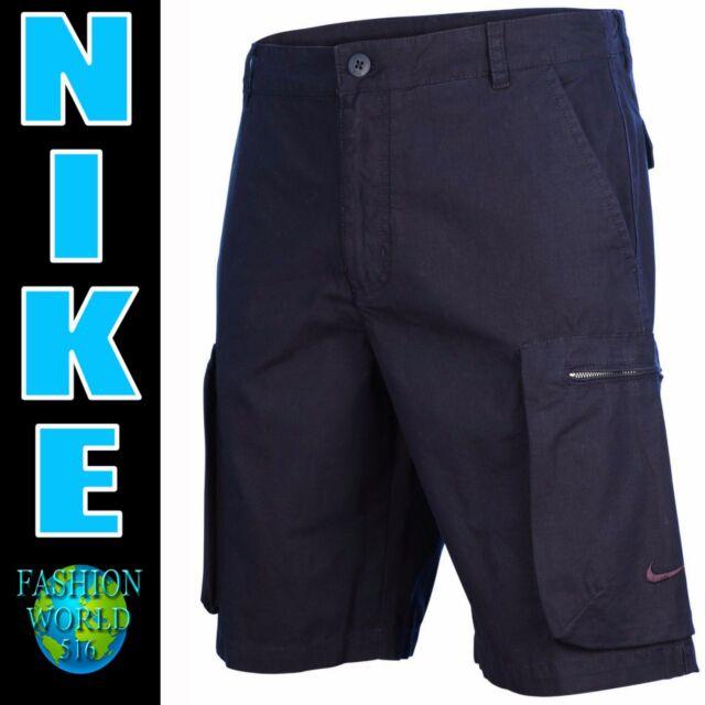 Nike Men's Size 30 Woven Performance Cargo Short Navy Blue 613644 475