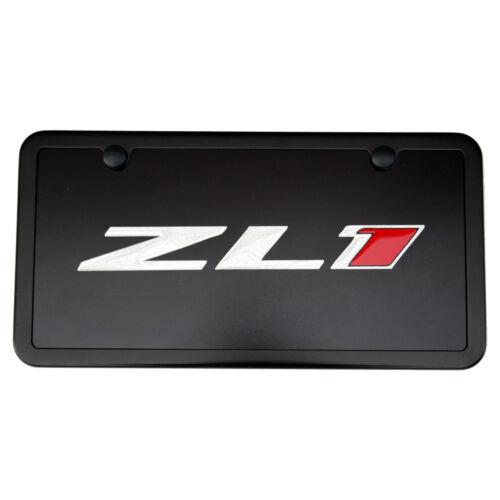 Black Made in USA Chevrolet Camaro ZL1 License Plate Vanity Tag /& Frame