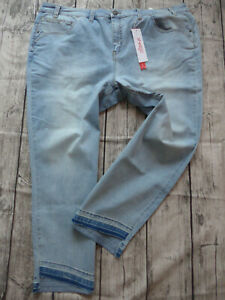Sheego-Jeans-Pants-Size-40-to-58-Blue-Large-Sizes-357